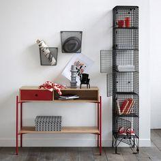 2 металлические корзины для хранения. La Redoute Interieurs