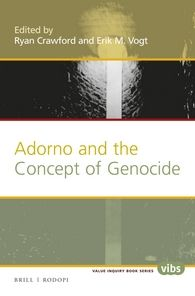 image of Adorno and the Concept of Genocide