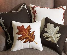 Fall decor, pillows