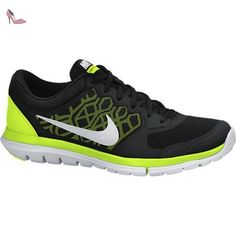 official photos 89b89 6badf Nike , Bas homme  Amazon.fr  Chaussures et Sacs. Nike , Bas homme -  multicolore - Noir   Lime   Blanc ...