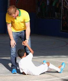 Prince Harry Photos - Prince Harry Visits Brazil: Day 4 - Zimbio