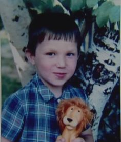 A young Alexander Ovechkin. He has the same face now.