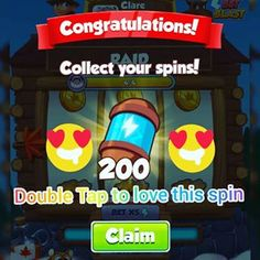 Coin master free spins coin links for coin master we are share daily free spins coin links. coin master free spins rewards working without verification Daily Rewards, Free Rewards, Bingo Blitz, Coin Master Hack, Miss You Gifts, Hacks, Coin Collecting, Free Games, Arcade Games