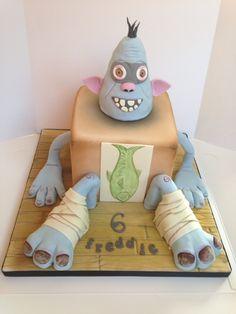 Boxtroll birthday cake