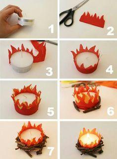 Use LED candles