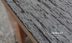 Eine erlebbare, haptische Oberfläche , die wie das Seidenholz anmutet. Das KOLO als haptisch erlebbares Möbel designed and made by lueckenfueller.design Design, Plywood