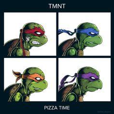 "ninja-turtles-fan-site: ""TMNT Demon Dayz tribute album cover by "" Ninja Turtles Art, Teenage Mutant Ninja Turtles, Gorillaz Demon Days, Tmnt Characters, Superhero Pictures, Cartoon Fan, Geek Art, Manga, Album Covers"