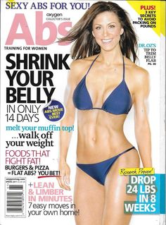 Oxygen Abs magazine Weight loss Workouts Best foods Health and nutrition tips