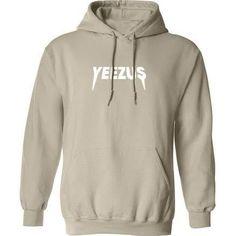 Kanye West Yeezus Tour Unisex Ultra Soft Hoodie Sweatshirt Nude Beige Tan Yeezy