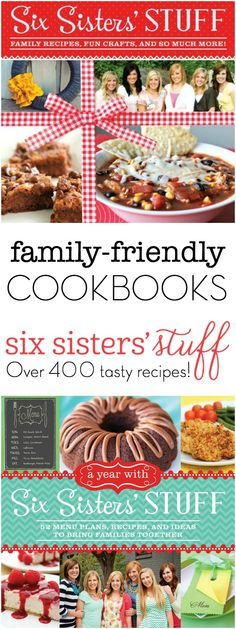 Did you know we've released 4 Cookbooks?! Each one is filled with favorite family-style recipes, fun ideas to bring your family together, and a few simple projects to add to your home.
