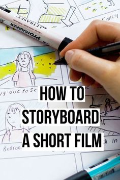 How to Storyboard a Short Film. Plus Free Template downloads to use on your own productions. filmmaking | filmmaking tips #Filmsusingvideo