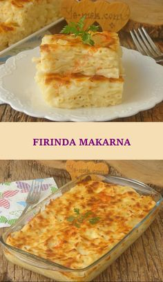 Yummy Pasta Recipes, Lunch Recipes, Pie Flavors, Pasta Bake, Wrap Sandwiches, Turkish Delight, Food And Drink, Homemade, Baking