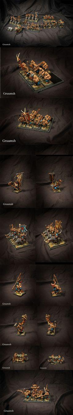 Ogre Kingdoms army (part 1)