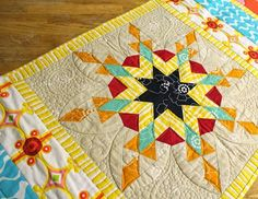 Sew in Love {with Fabric}: Solar Stars: A One Block Wonder