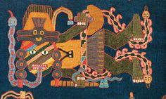 Textilería de la cultura Paracas