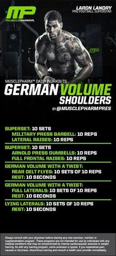 German Volume - Shoulders