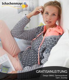 S8962 - Traumhafter Damenpulli aus Schachenmayr #Journey, Gratisanleitung