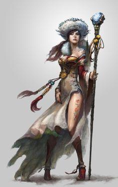 Mir Lv70 sorcerer by Seung Chan Hong