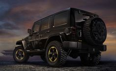 "Jeep® Wrangler ""Dragon"" Design Concept debuts at 2012 Beijing Auto Show, inspired by the Year of the Dragon."