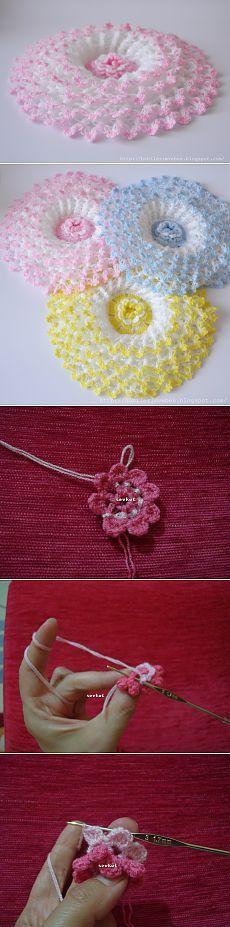 "Связать крючком цветы по мастер классу.. [   ""Assign crochet flowers on a master class ."" ] #<br/> # #Crochet #Flower,<br/> # #Crochet #Patterns,<br/> # #Abla,<br/> # #Pine,<br/> # #Apples,<br/> # #Masters,<br/> # #Doilies,<br/> # #3,<br/> # #Knitting<br/>"