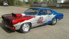 Electric Water Pump, Plymouth Duster, Nhra Drag Racing, California Ca, Roll Cage, Mopar, Race Cars, Product Launch, Street
