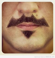 "Well, Movember is approaching...might I suggest the ""Batstache""?"