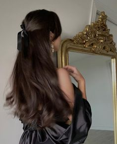Hair Inspo, Hair Inspiration, Aesthetic Hair, Sky Aesthetic, Flower Aesthetic, Dream Hair, Pretty Hairstyles, Hair Goals, Your Hair