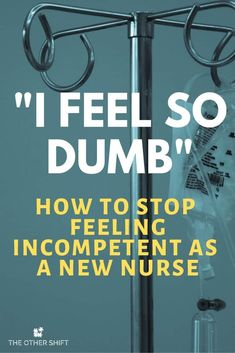 a New Nurse is Hard. How to Stop Feeling Incompetent Are you a new nurse graduate and feeling incredibly out of your depth? We want to help you transition from nursing school into RN seamlessly. Nursing School Motivation, Nursing School Humor, Nursing School Notes, Icu Nursing, Nursing Career, Nursing Tips, Nursing Schools, Funny Nursing, Nursing Memes