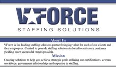 VForce Staffing - We hire veterans!