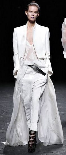 Haider Ackermann S/S 2013  The Coat alone stole my heart.....and the shoes