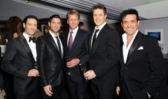 Il Divo and Andrew Castle