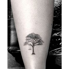 Tree Tattoo Designs for Women found on Polyvore featuring women's fashion, accessories, body art and tattoo