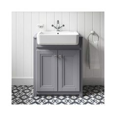 Buy the Butler & Rose Catherine Traditional Floorstanding Vanity Unit with Belfast Sink - Matt Grey from Tap Warehouse and add some traditional charm to your bathroom. Get free UK mainland delivery when you spend over 250 here at Tap Warehouse. Grey Vanity Unit, Sink Vanity Unit, Bathroom Sink Units, Belfast Sink Bathroom, Belfast Sink Kitchen, Bathroom Vanities, Bathroom Ideas, Toilet Storage, Bathroom Interior Design