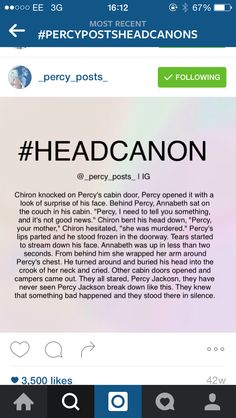 Oh my gods no. Percy would probably go crazy until he found her killer.