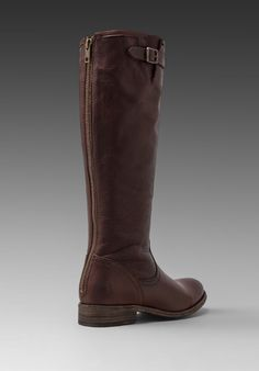 Back Zip Tall Boot