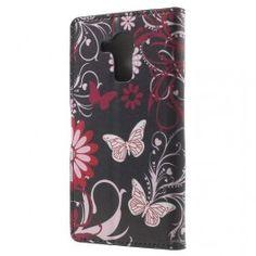 Huawei Honor 7 Lite kukkia ja perhosia puhelinlompakko. Microsoft Lumia, Phone Cases, Phone Case