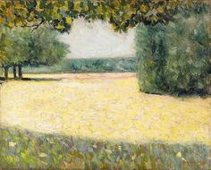 "the-paintrist: "" dappledwithshadow: ""Charles Angrand (French, "" Charles Angrand April 1854 – 1 April was a French artist who gained renown for his Neo-Impressionist paintings and. Impressionist Paintings, Landscape Paintings, Georges Seurat, Garden Park, Post Impressionism, Pointillism, French Artists, Art World, Love Art"