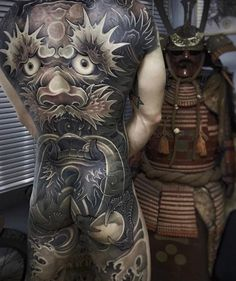japanese tattoos designs and meanings Full Back Tattoos, Full Body Tattoo, Get A Tattoo, Male Tattoo, Asian Tattoos, Hot Tattoos, Tattoos For Guys, Japanese Tattoo Art, Japanese Tattoo Designs