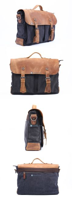 $66.68 Canvas Shoulder Bag Mens Stylish Messenger Bags