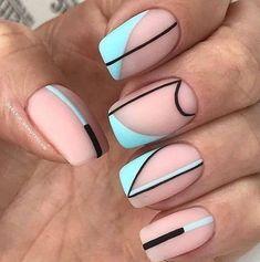 Best Acrylic Nails, Acrylic Nail Designs, Nail Art Designs, Nails Design, Shellac Nail Designs, Fancy Nails, Trendy Nails, Stylish Nails, Dope Nails