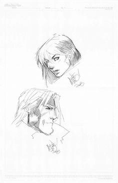 Rogue and Gambit by Joe Madureira