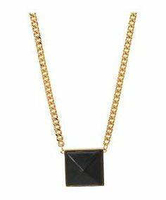 Vince Camuto C500713 #accessories  #jewelry  #necklaces  https://www.heeyy.com/suggests/vince-camuto-c500713-gold-nappa-black/