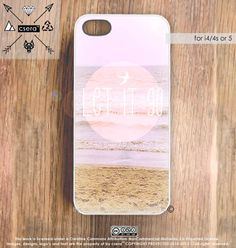 Quote iPhone 5 Case iPhone 4 Case  Beach iPhone 4 by casesbycsera, $19.99