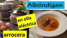 Albóndigas en olla eléctrica arrocera. Lita. Cereal, Oatmeal, Breakfast, Food, Gourmet, Lunches, Eating Clean, Food Recipes, The Oatmeal