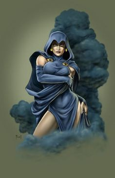 Raven. Not the retarded version from the equally retarded Teen Titans cartoon…