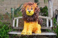 Safari Birthday Cute Lion Piñata Custom Hand Made Lion Piñata Circus Pinata Cute Lion Pinata endangered species Nursary Pinata Decoration by angelaspinatas on Etsy https://www.etsy.com/listing/217977089/safari-birthday-cute-lion-pinata-custom