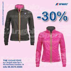 #AngoloSaldi -30% donna Violet Plus Double #KWAY. Gigastore Via G. Cardano 74 - 06.6574.6565