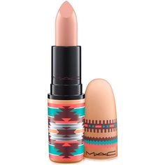 Mac Vibe Tribe Lipstick ($18) ❤ liked on Polyvore featuring beauty products, makeup, lip makeup, lipstick, arrowhead, mac cosmetics and mac cosmetics lipstick