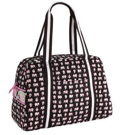 Sport Duffel in Pink Elephants: arriving online and in stores November 21.
