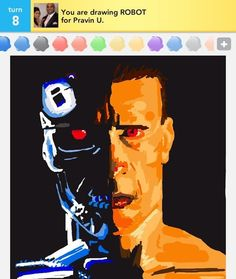 The coolest drawing I've seen yet! I need to perfect my drawing skills on the Draw Something app. Draw Something, Drawing Skills, Fancy, Cool Drawings, Good Movies, I Am Awesome, Amazing, Cool Art, Cool Photos